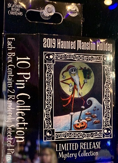 Haunted Mansion Holiday 2019 Mystery Pin Set