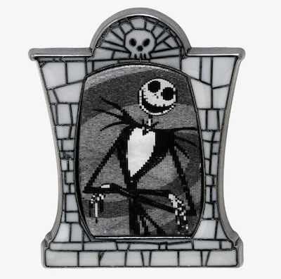 Jack Skellington Lenticular Disney Pin
