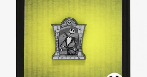 Jack Skellington Lenticular Hot Topic Disney Pin