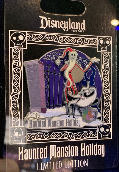 Jack & Zero Haunted Mansion Holiday 2019 Pin