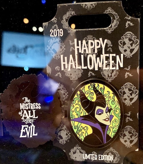 Maleficent Halloween 2019 Tiered Disney Pin