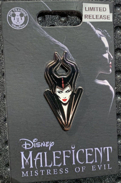 Maleficent Mistress of Evil Bust Pin