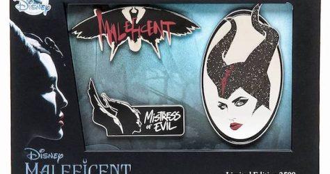 Maleficent Mistress of Evil shopDisney Pin Set