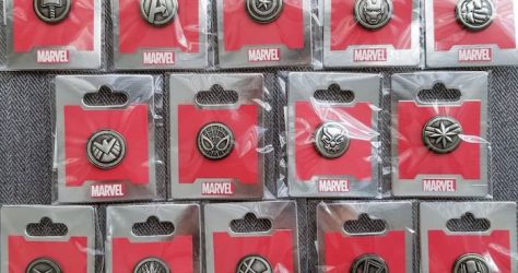 Marvel Avenger Emblems WDI Pin Collection