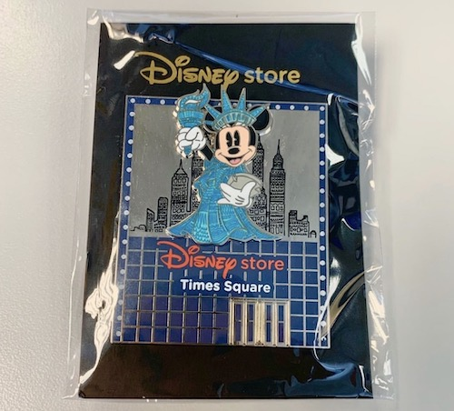 Minnie Mouse Disney Store Times Square Pin