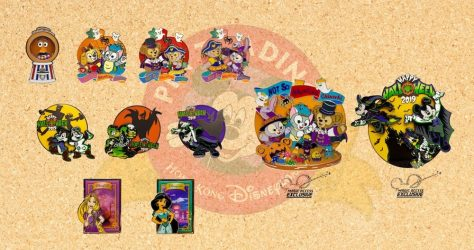 October 2019 HKDL Limited Edition Pin Releases