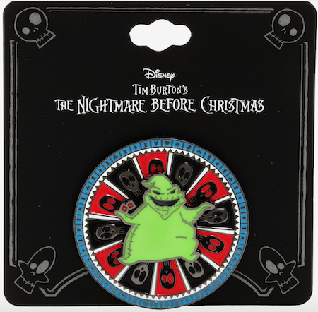 Oogie Boogie Spinning BoxLunch Disney Pin