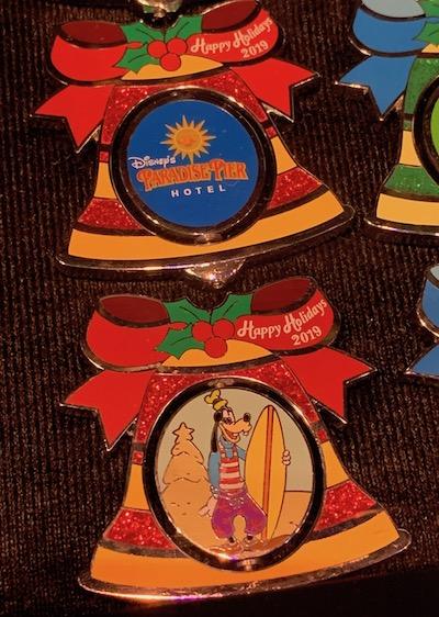Paradise Pier Hotel 2019 Holiday Pin