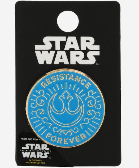 Resistance Forever Star Wars The Rise of Skywalker BoxLunch Pin