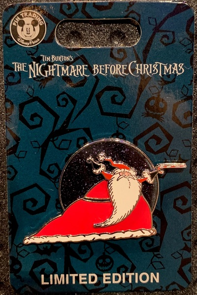 Santa Claus - Nightmare Before Christmas 2019 Pin