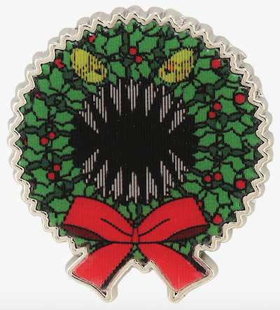 Scary Wreath Lenticular NBC Disney Pin
