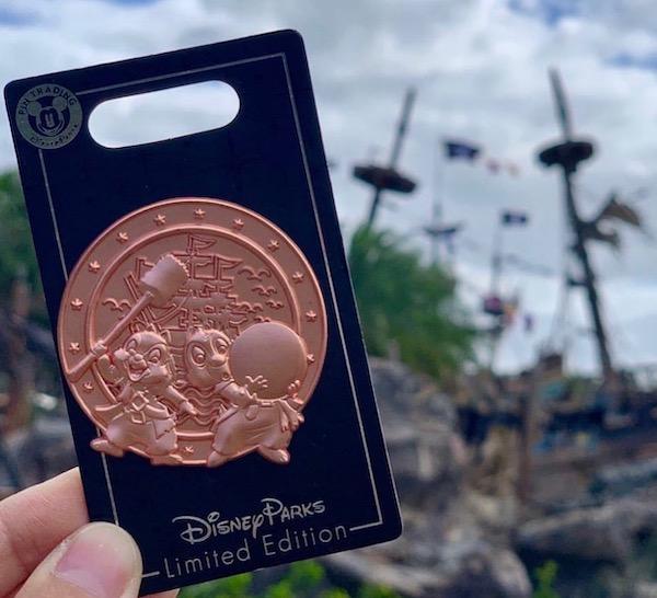 Shipwreck Shore Shanghai Disneyland Pin