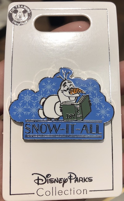 Snow It All Frozen 2 Pin