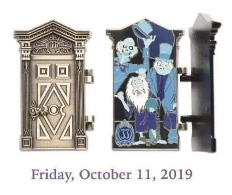 The Haunted Mansion 50th Anniversary Club 33 Disney Pin #6