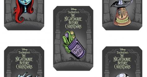 The Nightmare Before Christmas Mondo Pin Series