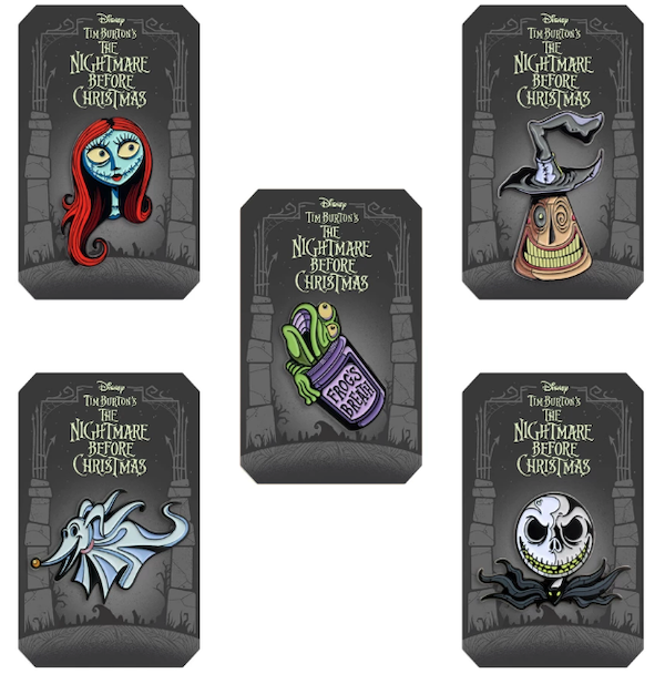 The Nightmare Before Christmas Mondo Pin Series