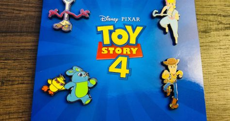 Toy Story 4 Disney Movie Club Pin Set