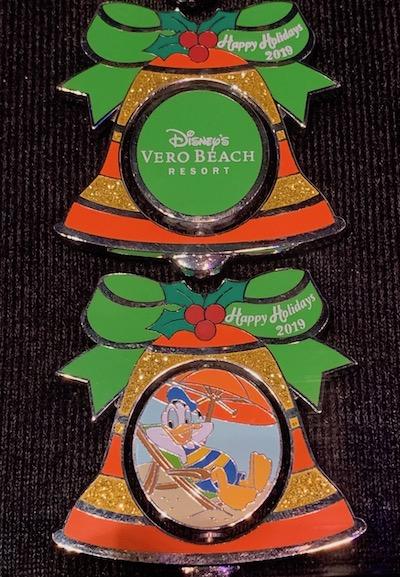 Vero Beach Resort 2019 Holiday Pin