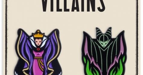 Villainess Mondo 2-Pin Set