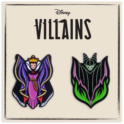 Villainess Mondo 2-Pin Set