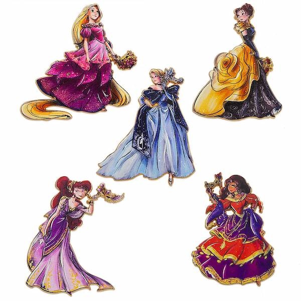 shopDisney Designer Collection Midnight Masquerade Pins #1