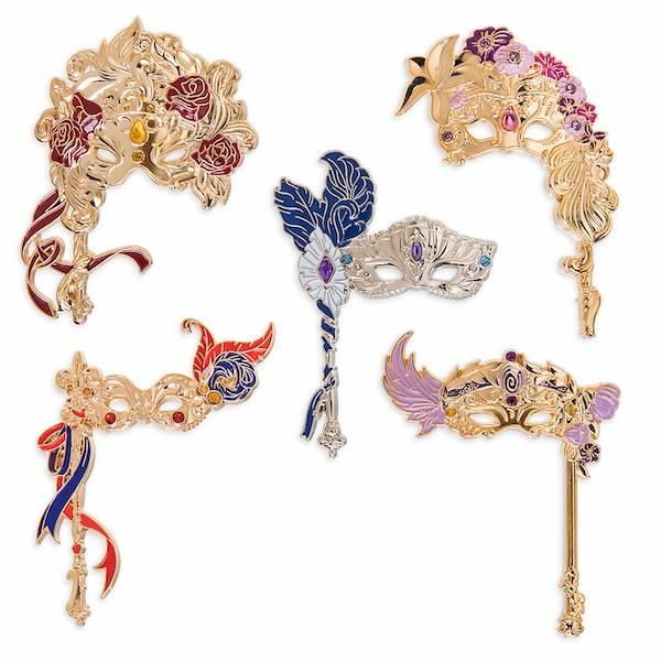 shopDisney Designer Collection Midnight Masquerade Pins #2