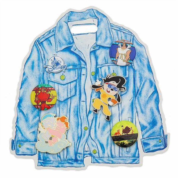1990s Oh My Disney Pin Set