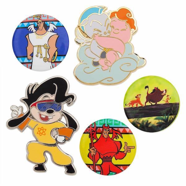 1990s Oh My Disney Pins