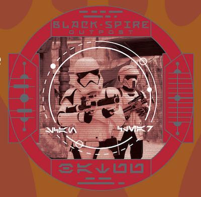 709th Legion First Order Scouting Star Wars Galaxy's Edge Pin