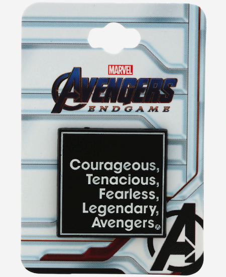 Avengers Attributes BoxLunch Marvel Pin