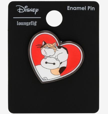 Big Hero 6 Baymax Mochi Heart BoxLunch Disney Pin