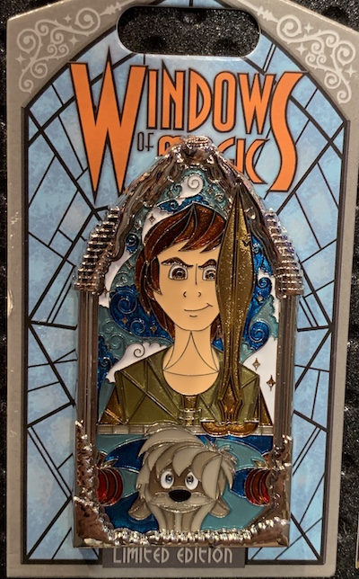 Black Cauldron Windows of Magic Pin
