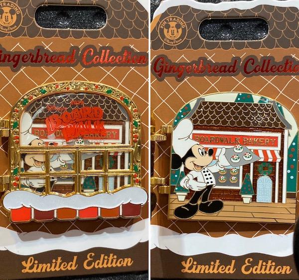 Boardwalk Resort Gingerbread 2019 Disney Pin