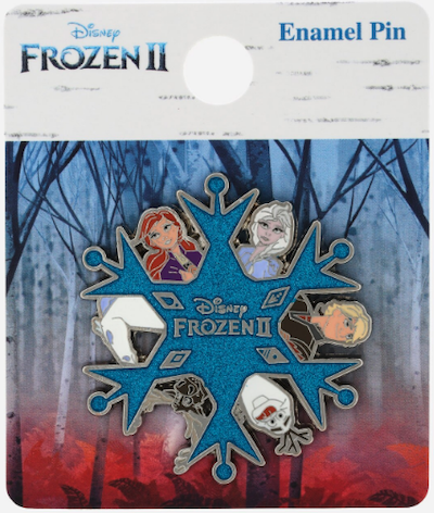 Characters Frozen 2 Funko Pop Pin