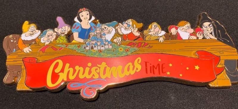 Christmas Time 2019 DLP Jumbo Pin Closer Look