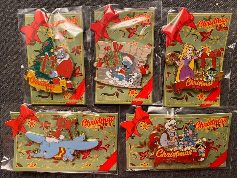Christmas Time 2019 Disneyland Paris Pins Continued