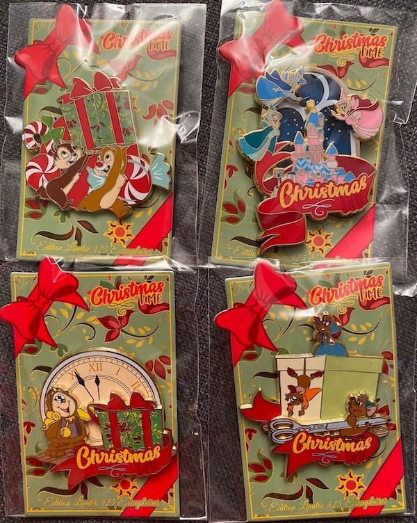 Christmas Time 2019 Disneyland Paris Pins