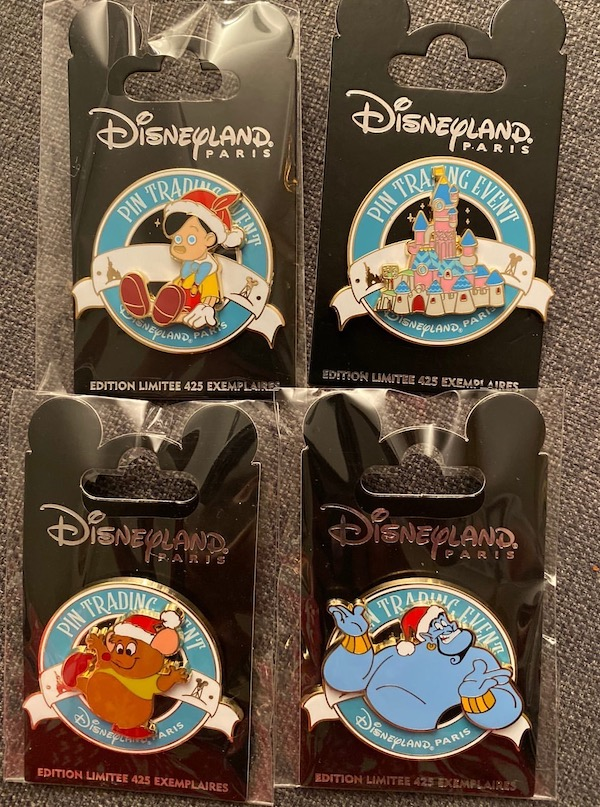 Christmas Time 2019 Pin Trading Event Pins