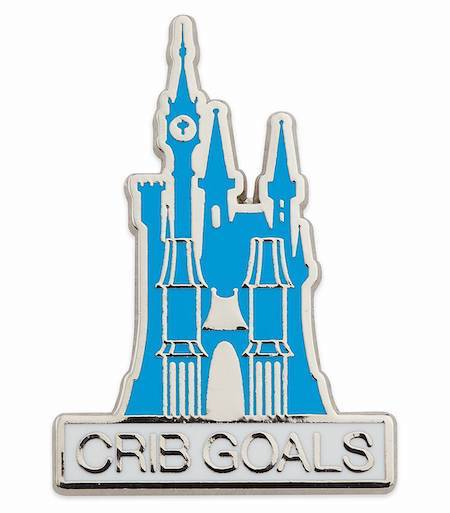 Cinderella Castle Holiday 2019 Gift Pin