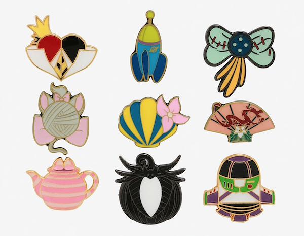 Disney Icons Blind Box Pins at Hot Topic