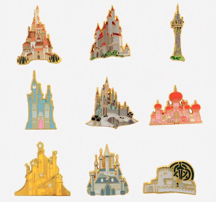 Disney Princess Castle Blind Box Pins At Hot Topic Disney Pins Blog