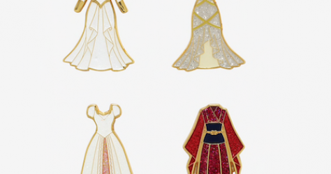 Disney Princess Wedding Dress BoxLunch Mystery Pins
