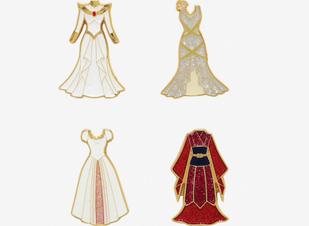 Disney Princess Wedding Dress Blind Box Pins Disney Pins Blog