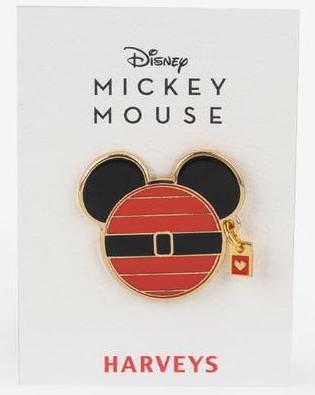 Disney Santa Mickey Harveys Pin