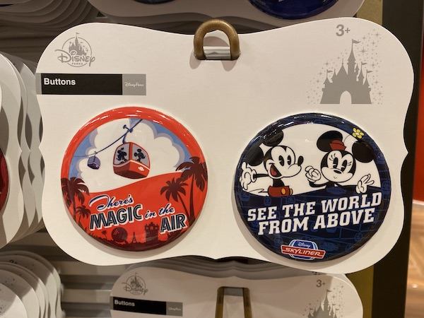 Disney Skyliner Button Set