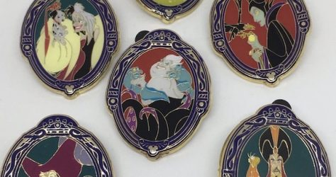 Disney Villains Shanghai Hidden Mickey Pins