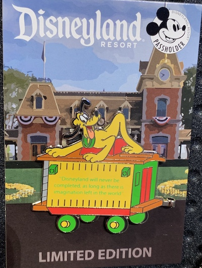 Disneyland Passholder Train Series 2019 Pin #6