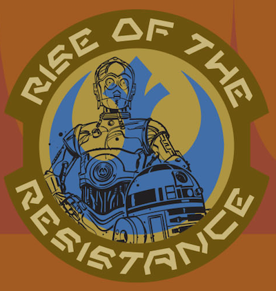 Droids Rise of the Resistance Star Wars Galaxy's Edge Pin