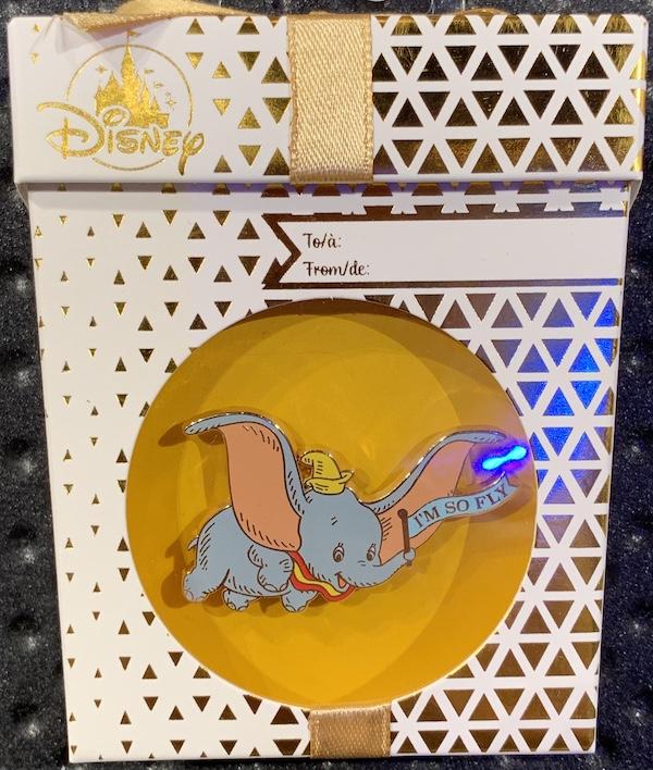 Dumbo Holiday 2019 Gift Pin