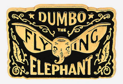 Dumbo the Flying Elephant BoxLunch Pin